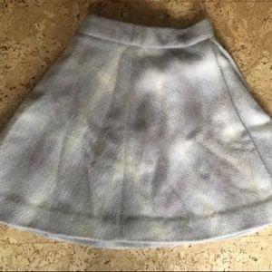 Skirts - Boho style Vegan Wool mohair skirt and vest set